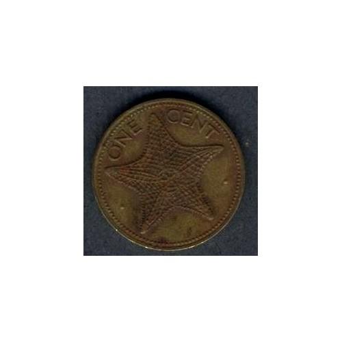 BAHAMAS 1 Cent 1980