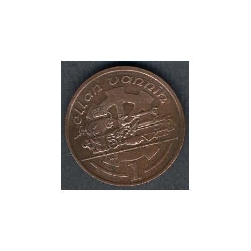 ISLE OF MAN 1 Penny 1988 AB
