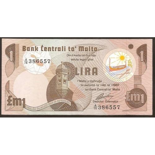 MALTA 1 Lira 1973