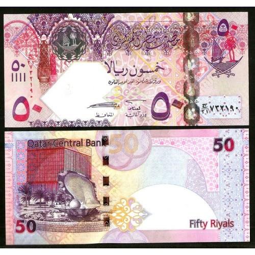 QATAR 50 Riyals 2008