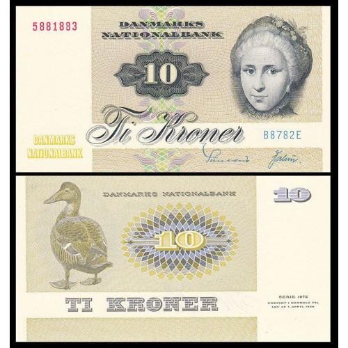 DENMARK 10 Kroner 1978