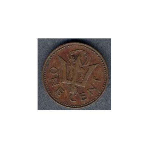 BARBADOS 1 Cent 1989