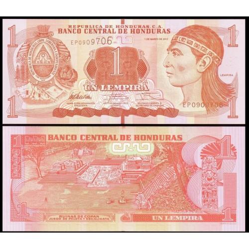 HONDURAS 1 Lempira 2012