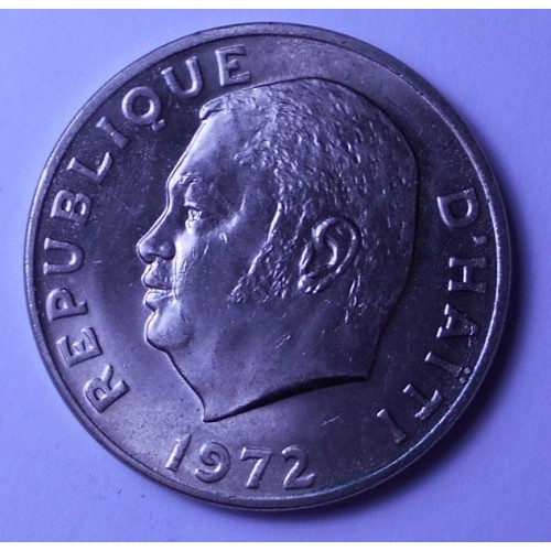 HAITI 50 Centimes 1972 FAO