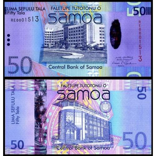 WESTERN SAMOA 50 Tala 2008...