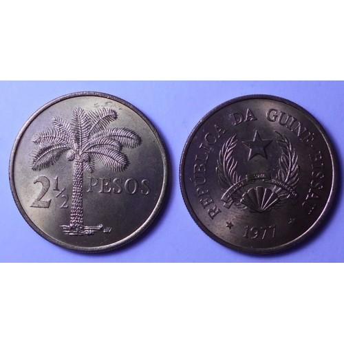 GUINEA BISSAU 2 1/2 Pesos...