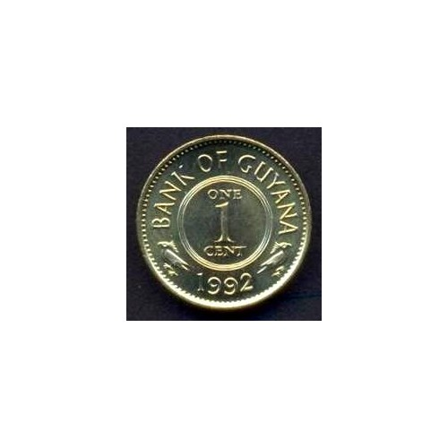GUYANA 1 Cent 1992