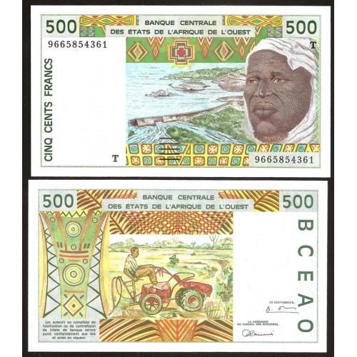 TOGO (W.A.S.) 500 Francs 1996