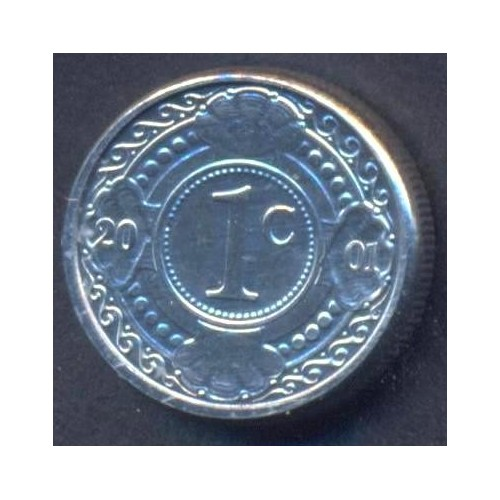 NETHERLANDS ANTILLES 1 Cent...
