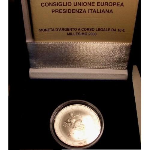ITALIA 10 EURO 2003...