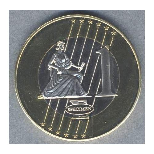 HUNGARY 1 Euro 2004...