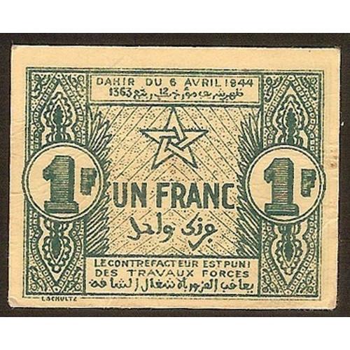 MOROCCO 1 Franc 1944