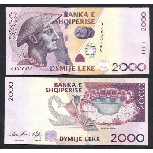 ALBANIA 2000 Leke 2012
