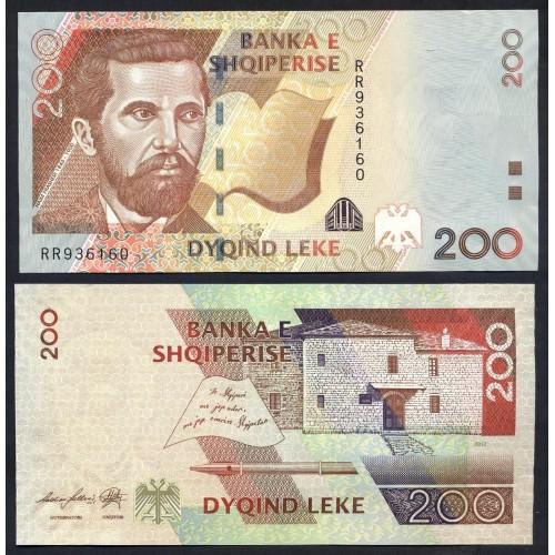 ALBANIA 200 Leke 2012