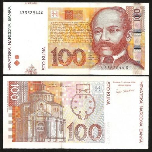 CROATIA 100 Kuna 2002