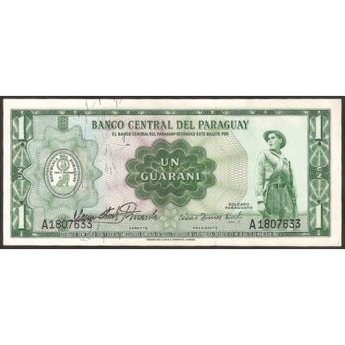 PARAGUAY 1 Guarani 1952 (1963)