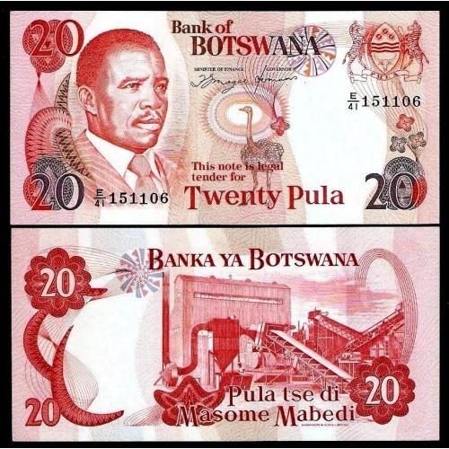 BOTSWANA 20 Pula 1992