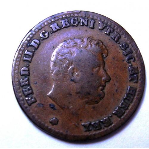 FERDINANDO II 1/2 TORNESE 1849