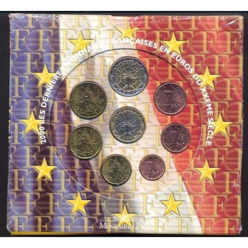 FRANCE Set 2000 Official Euro
