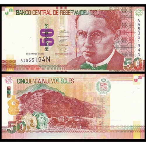 PERU 50 Nuevos Soles 2012
