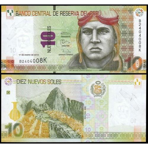 PERU 10 Nuevos Soles 2013