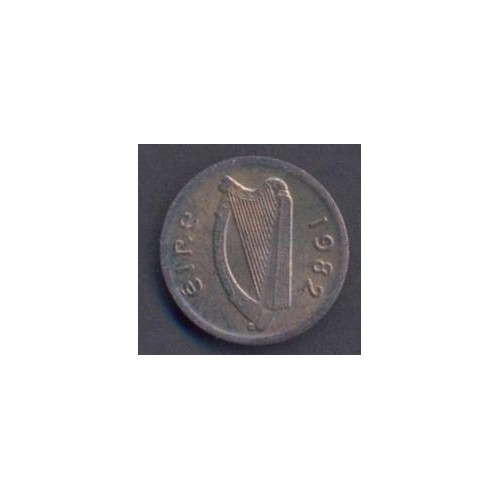 IRELAND 1/2 Penny 1982