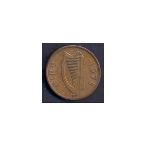 IRELAND 1/2 Penny 1975