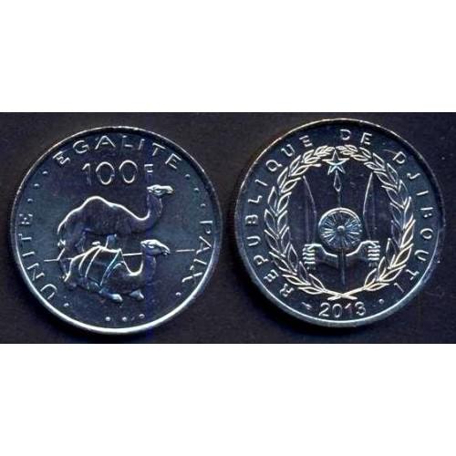 DJIBOUTI 100 Francs 2013