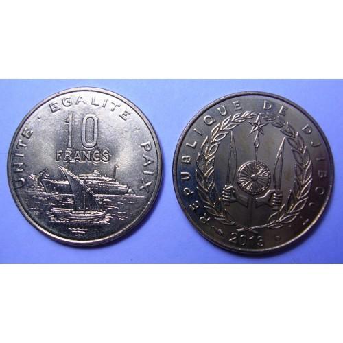 DJIBOUTI 10 Francs 2013