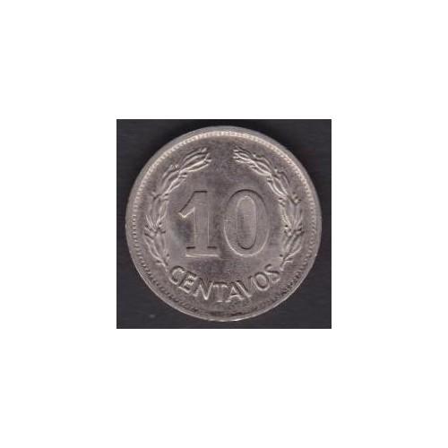 ECUADOR 10 Centavos 1976