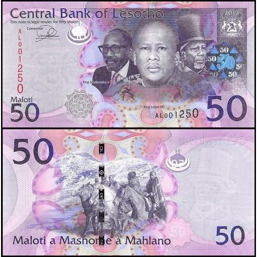 LESOTHO 50 Maloti 2013