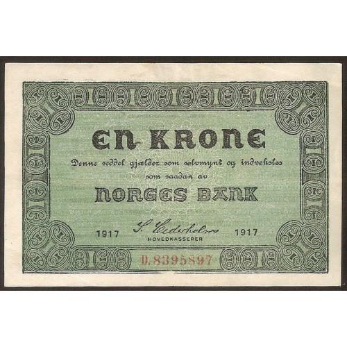 NORWAY 1 Krone 1942