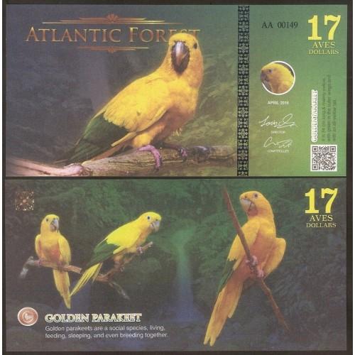 ATLANTIC FOREST 17 Aves...