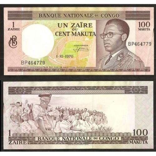 CONGO DEMOCRATIC 1 Zaire -...