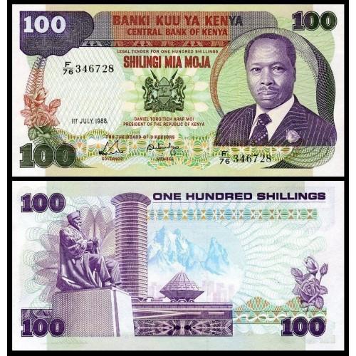 KENYA 100 Shillings 1988