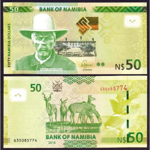 NAMIBIA 50 Dollars 2016