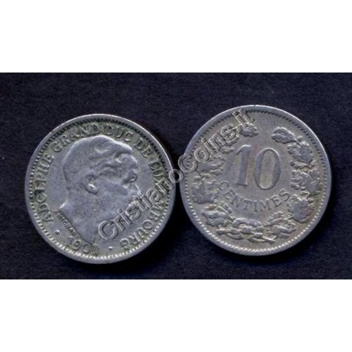 LUXEMBOURG 10 Centimes 1901