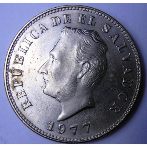 EL SALVADOR 5 Centavos 1977