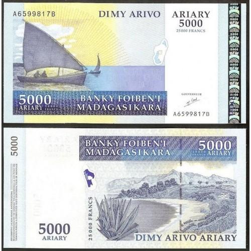 MADAGASCAR 5000 Ariary 2003