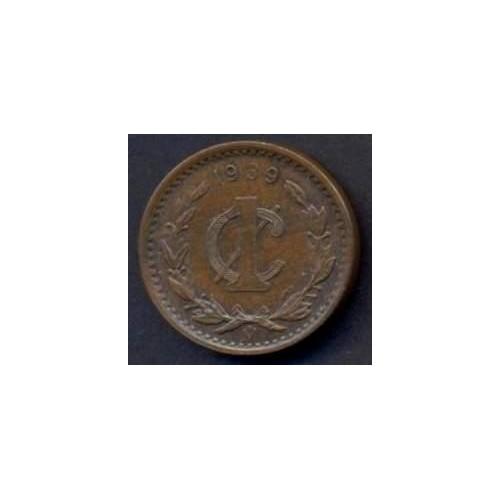 MEXICO 1 Centavo 1939