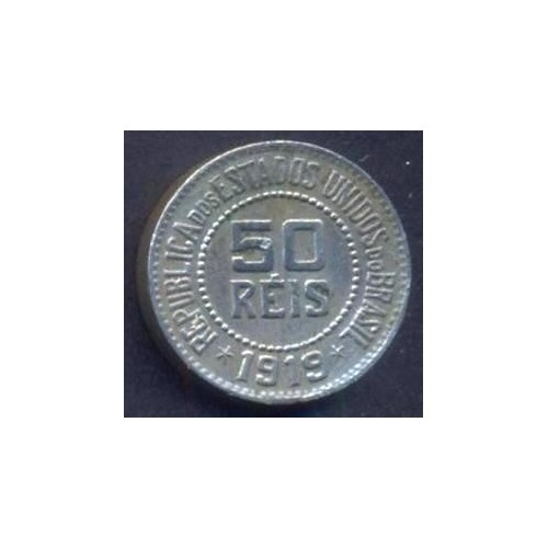 BRAZIL 50 Reis 1919