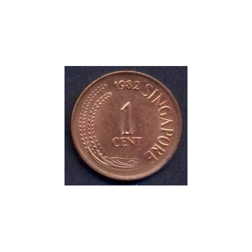 SINGAPORE 1 Cent 1982