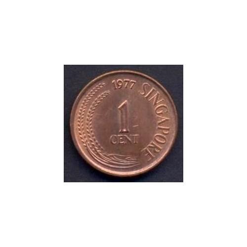 SINGAPORE 1 Cent 1977