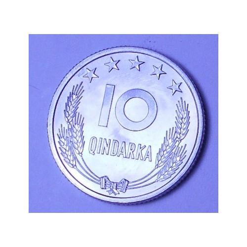 ALBANIA 10 Qindarka 1969...