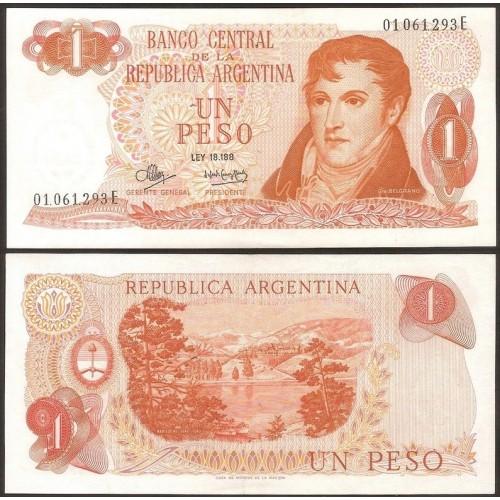 ARGENTINA 1 Peso 1970