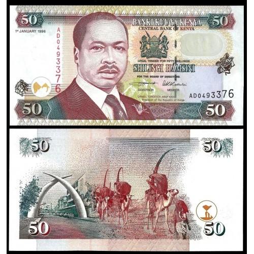 KENYA 50 Shillings 1996
