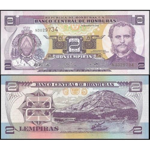 HONDURAS 2 Lempiras 2003