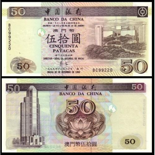 MACAO 50 Patacas 1999