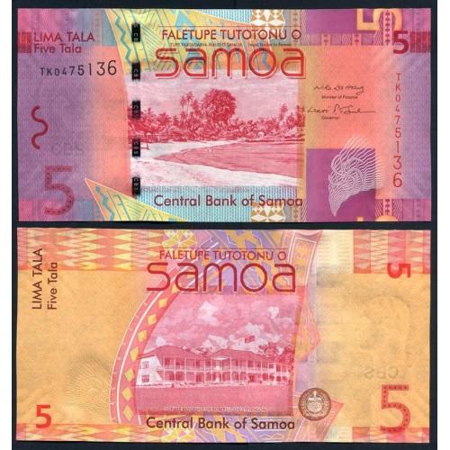 WESTERN SAMOA 5 Tala 2008