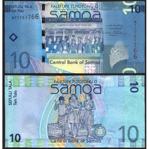 WESTERN SAMOA 10 Tala 2008